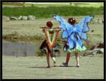 Fairies Walking