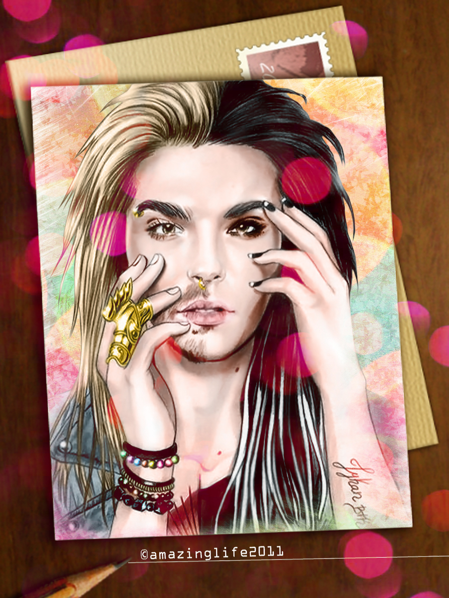 tokio hotel coloring pages - photo#23