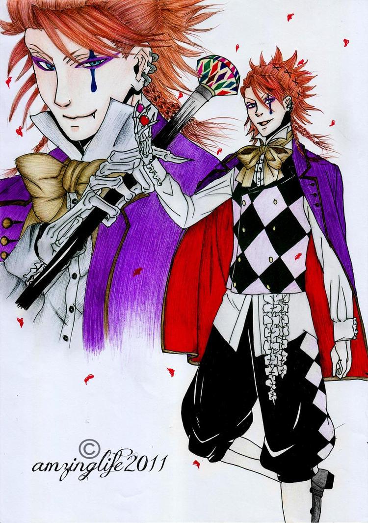 Joker - Kuroshitsuji: Book Of Circus by amazinglife2011