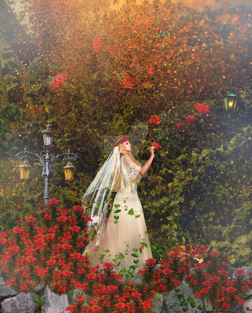 Autumn Bride by amazinglife2011