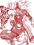 Luffy vs Akainu