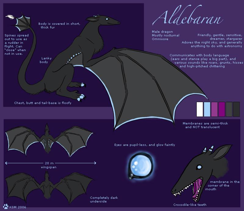 Aldebaran ref. sheet by k-a-m-a-r-i-a