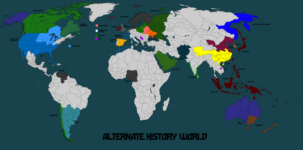 Alternate history world map mk 14 by norbertus1757 on deviantart alternate history world map mk 14 by norbertus1757 gumiabroncs Gallery
