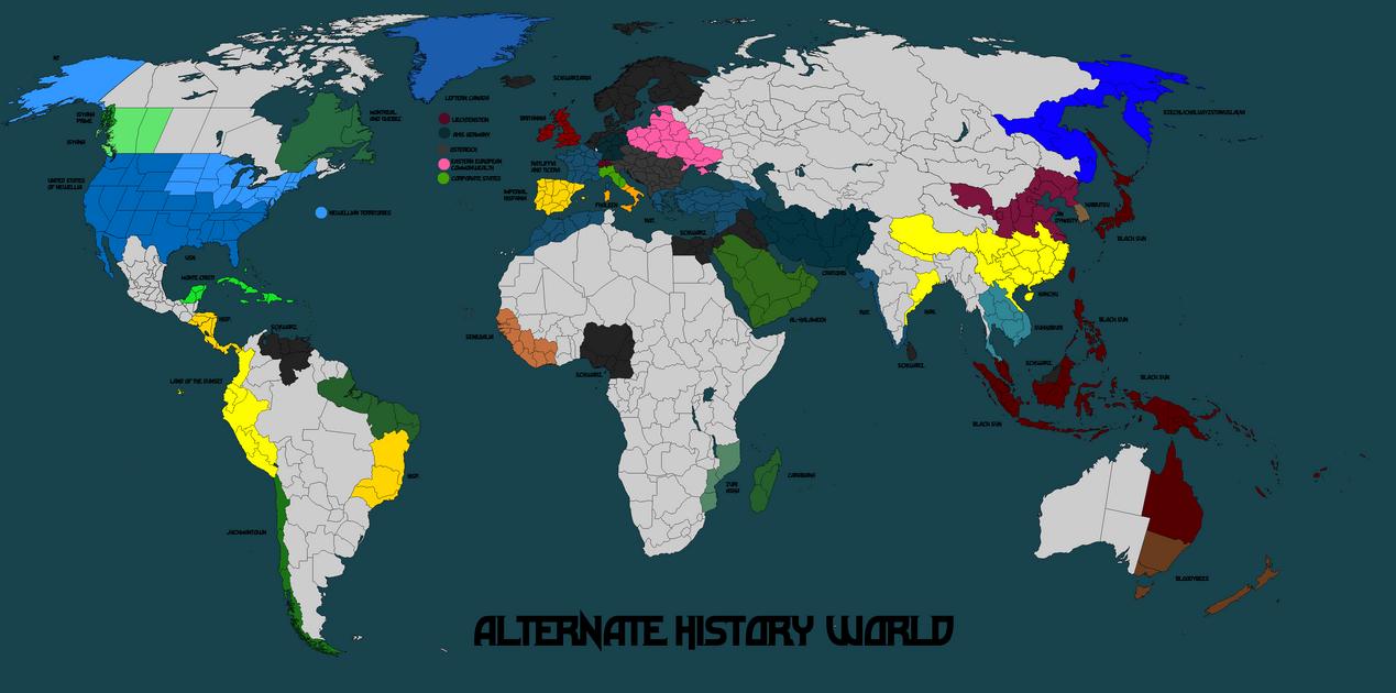 Alternate history world map mk 18 by norbertus1757 on deviantart alternate history world map mk 18 by norbertus1757 publicscrutiny Choice Image