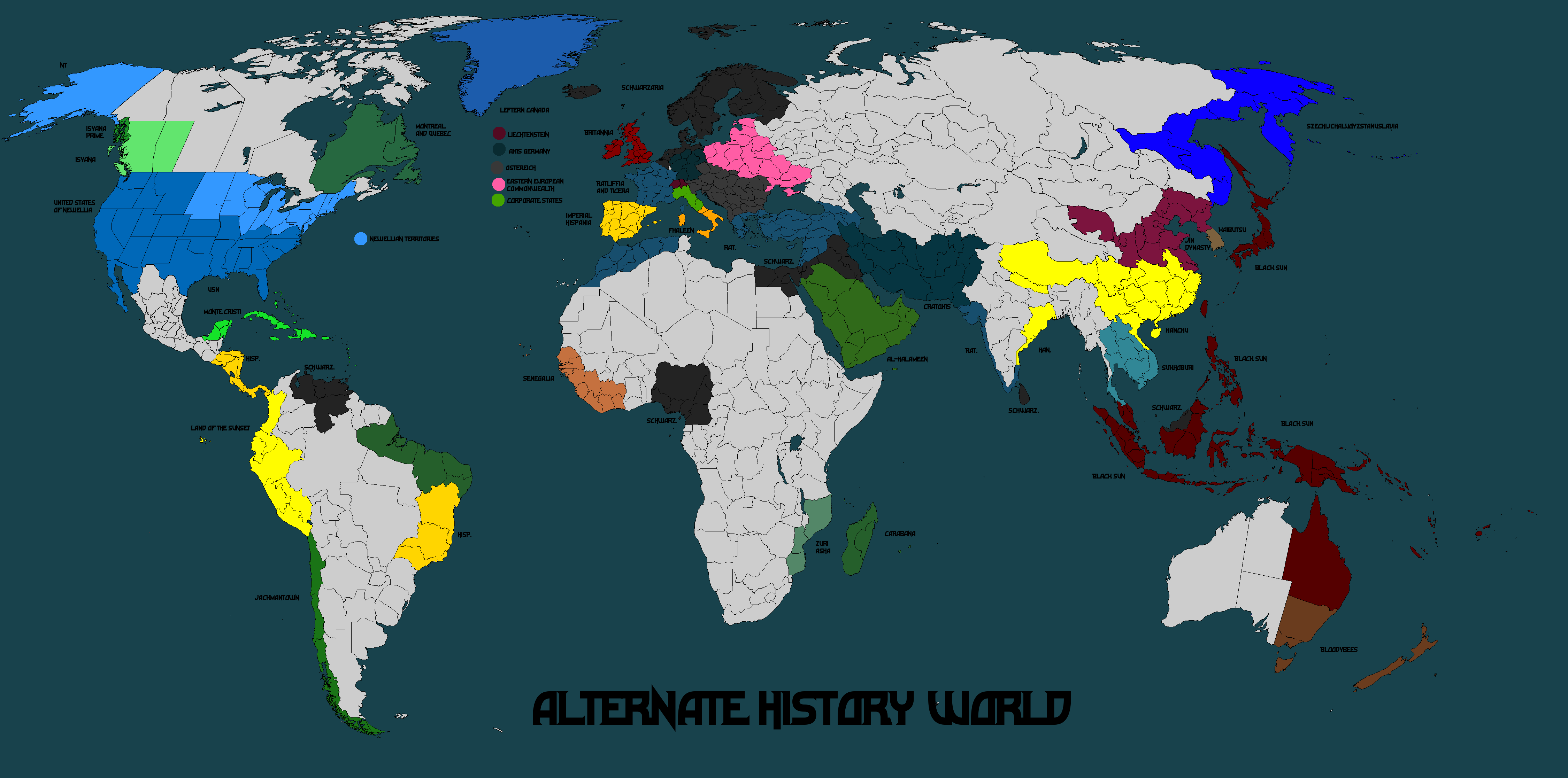 Alternate history world map mk 18 by norbertus1757 on deviantart alternate history world map mk 18 by norbertus1757 gumiabroncs Image collections