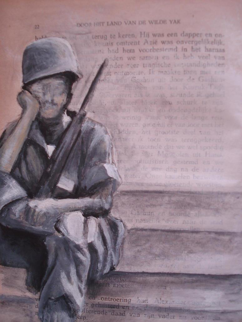 Soldier by jlnshark