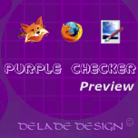 Persona Prv - PURPLE CHECKER by delade