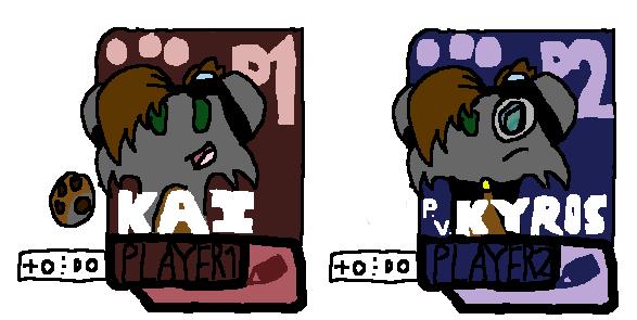 Brawl - Kai and P.V.K by Chaosky87