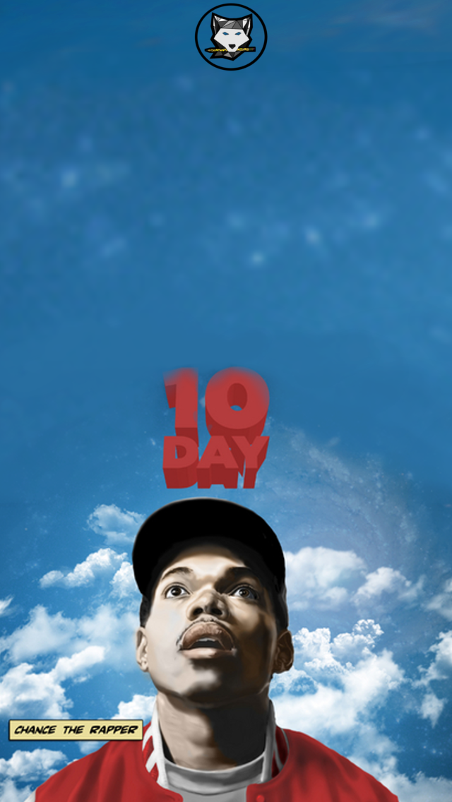 Chance The Rapper 10 Day Wallpaper By Bryanwerewolf