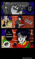 Q-012: Mr.'Imma Steal Yo Girl!' by Pepperistia