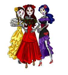 The Vasquez Sisters by Pepperistia