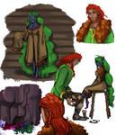 Magnus and mara sketchdump 1