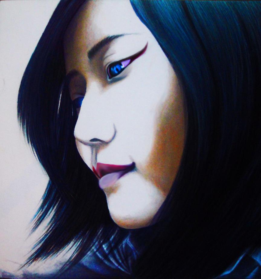 Blue Raven by CharlieCelis