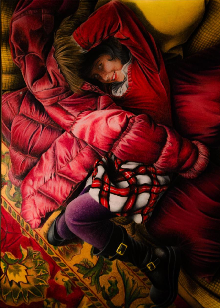 Red Mediterranean by CharlieCelis