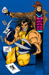 Wolverine and Gambit