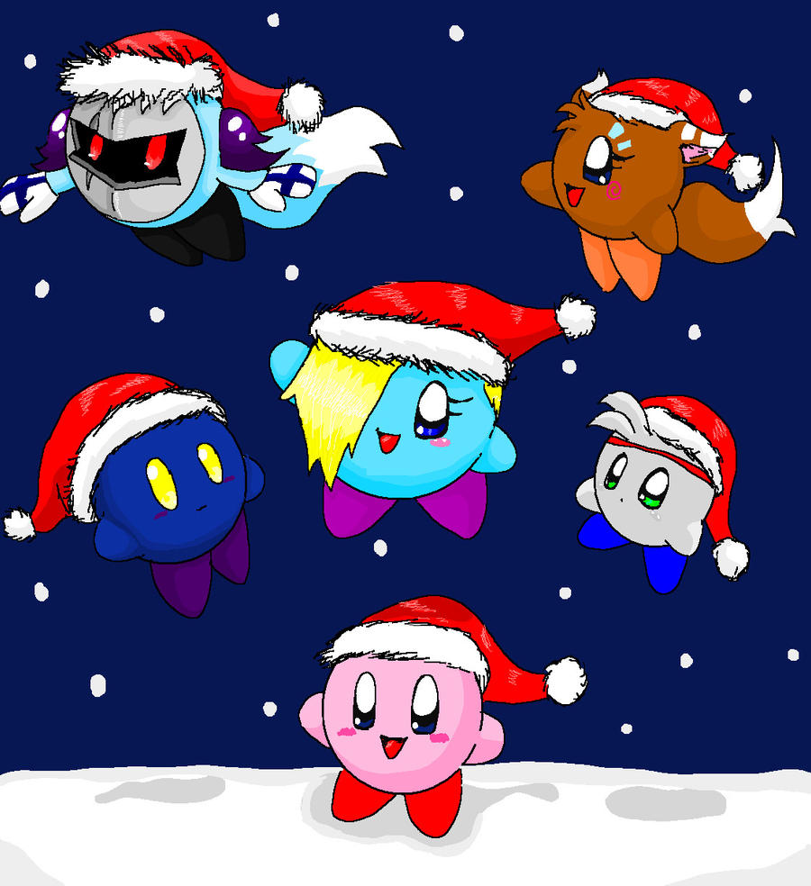 Merry kirby Christmas by Jericho-the-kirby on DeviantArt