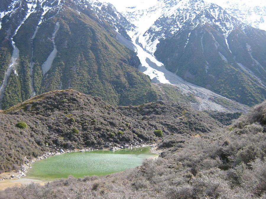 Mountain Lake 1 by Kathofel