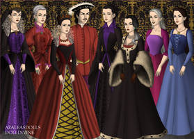 Tudor Disney Villains I by Kathofel