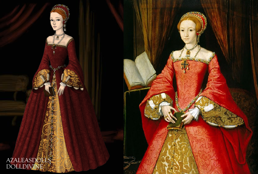 Young Queen Elizabeth 1 Dress Young Elizabeth I by K...