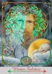 Yule Winter Solstic pagan Sabbat art by bonny-hut