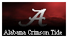 SEC Alabama Football Stamp by Dembe