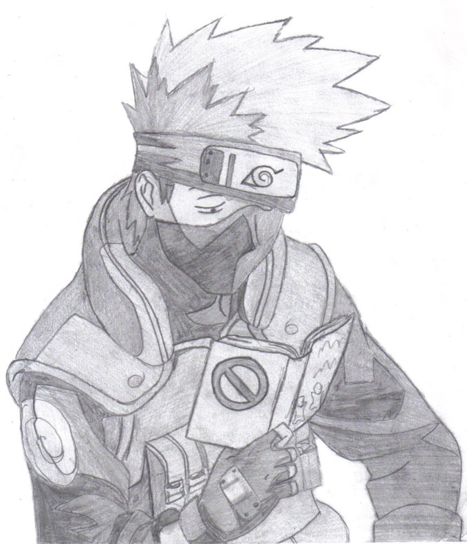 kakashi reading by s newman