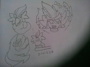 Ogura doodles