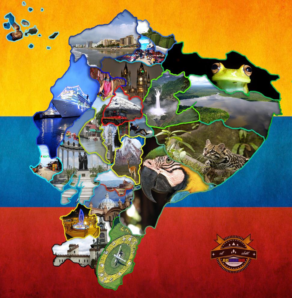 Ecuador Map by xbueno123