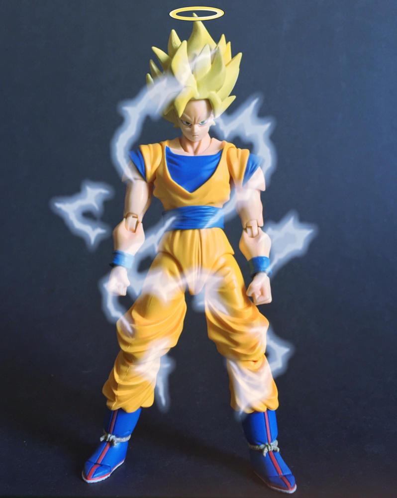 Goku Super Saiyan 2 by xbueno123
