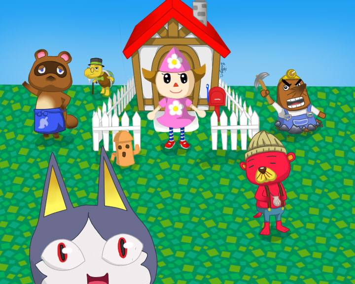 Animal Crossing by ninja-of-alchemy