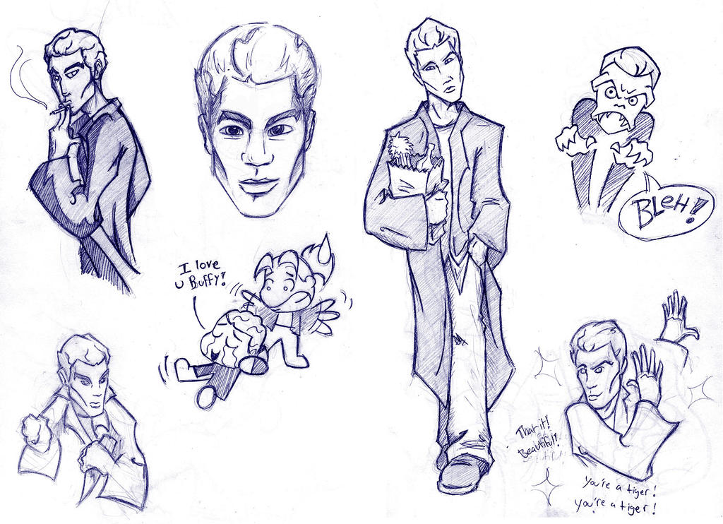 Spike sketches by D8-not-H8