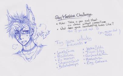 Pen Challenge by Kaizoku-no-Yume