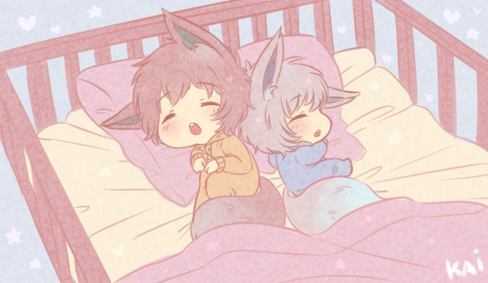 +Pkmn+ Megan and Zael by Kaizoku-no-Yume