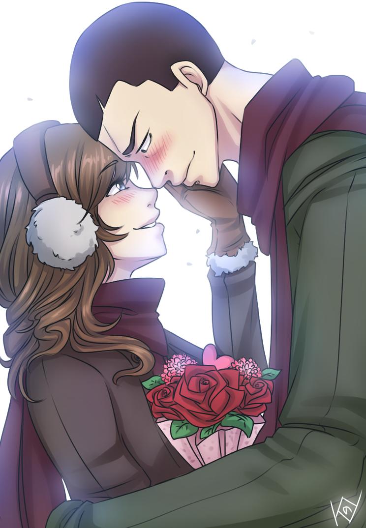 +DnA+ Valentine Ace by Kaizoku-no-Yume