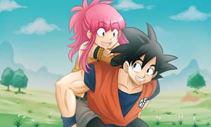 +DBZ+ Goku and Amanda
