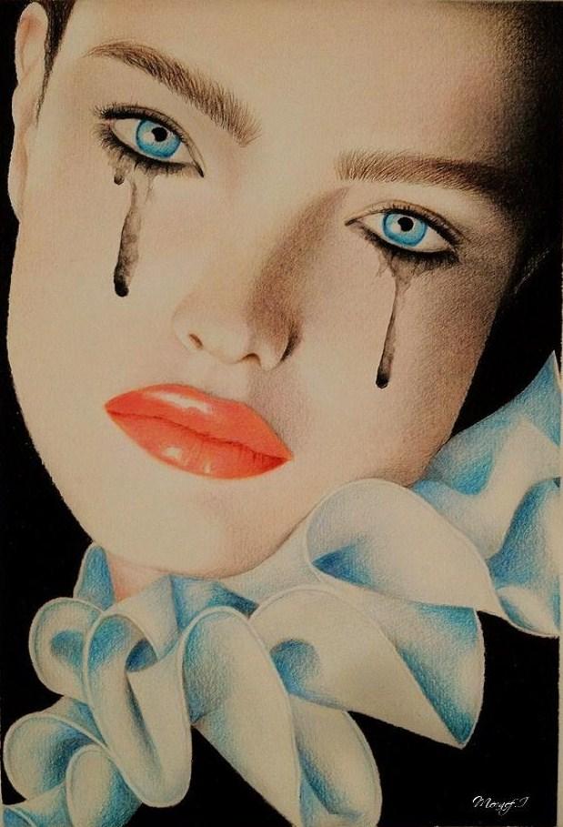 Feeling blue.. by IrinArt