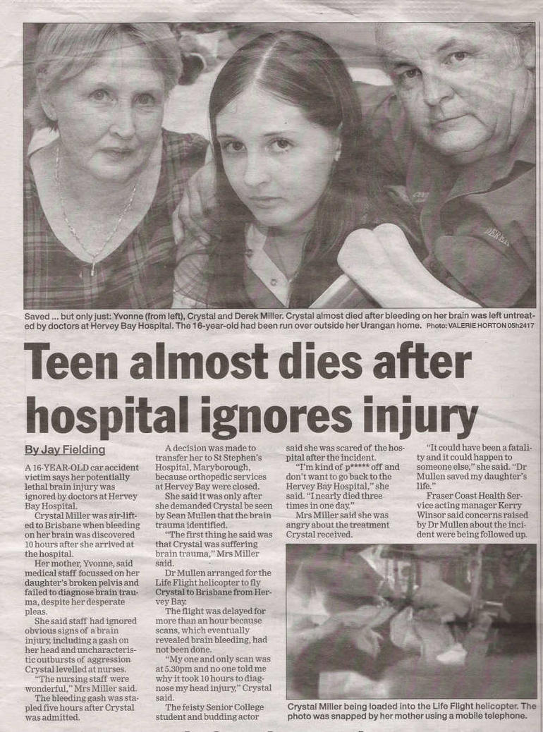 Teen Almost Dies... by X-VelvetRainDrops-X