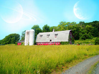 The Farmhouse On Planet Alpha
