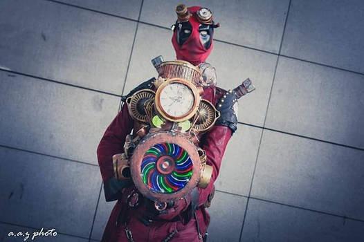 Steampool (Deadpool in steampunk)Marvel)