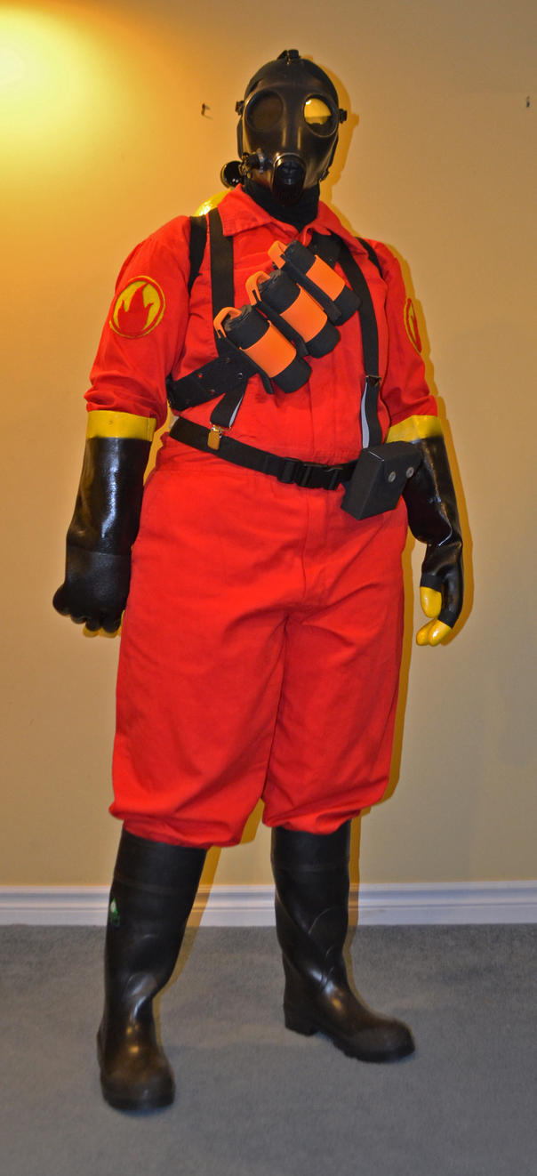 Pyro Tf2 Cosplay Pyro Cosplay Front by ...