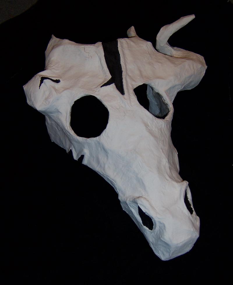 Pyromancer Mask by MasqueradeLover