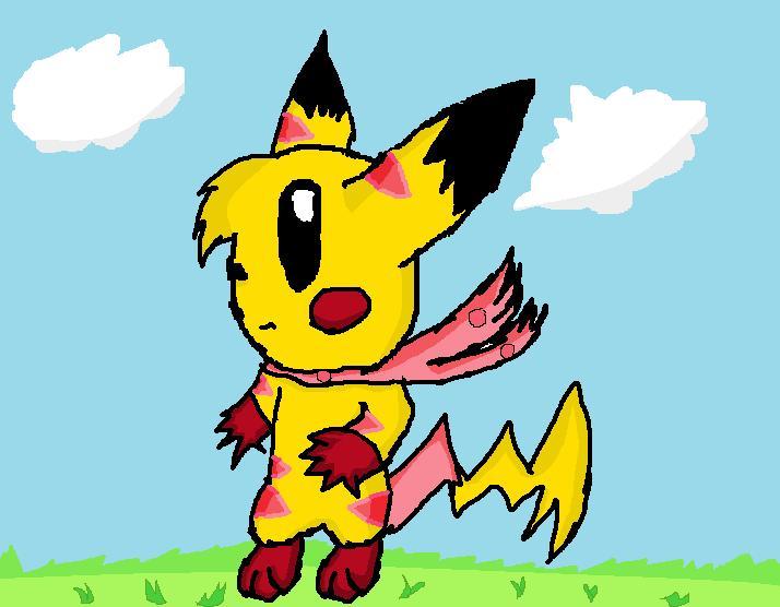 Kiiro The Pikachu by QuilavaBurn