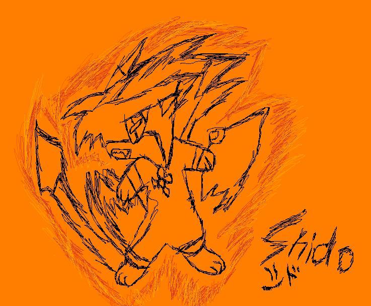 Shido Activating Blaze by QuilavaBurn