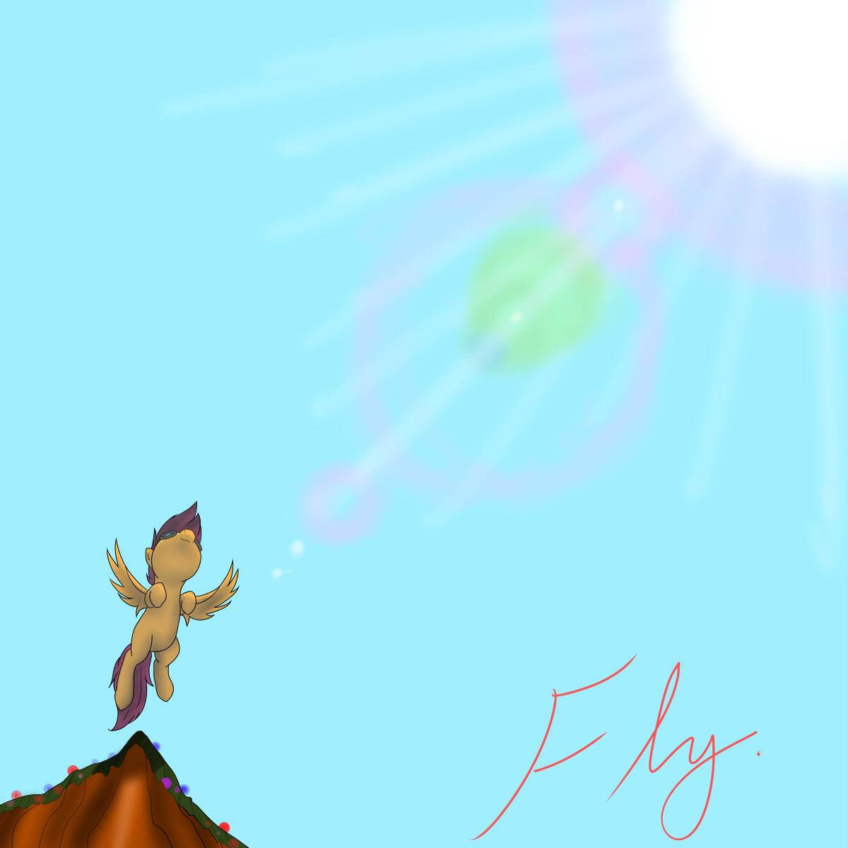 Fly. by JinYaranda
