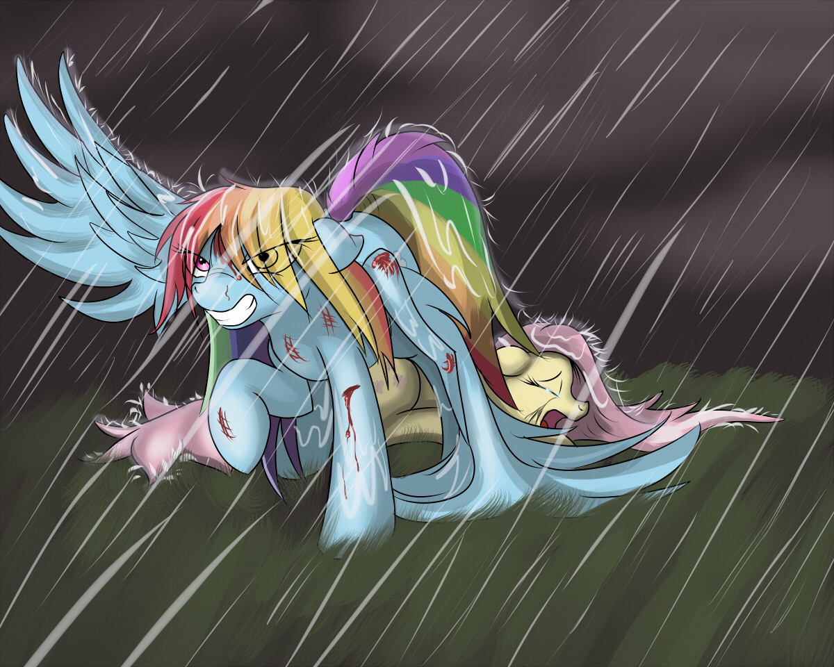 Dashie Saves Fluttershy (Final) by InkyBeaker