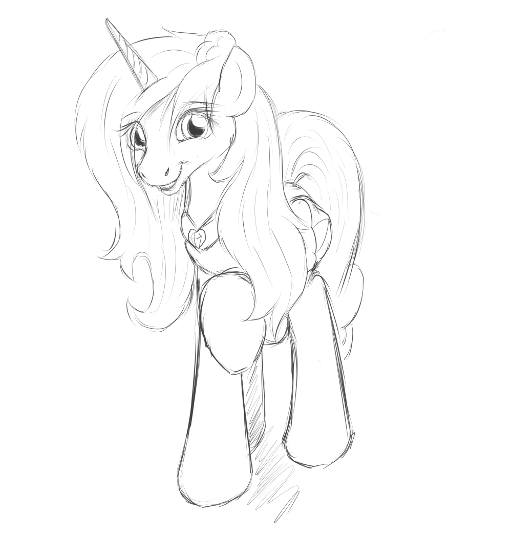 Sitrophe Art Trade Sketch! by JinYaranda
