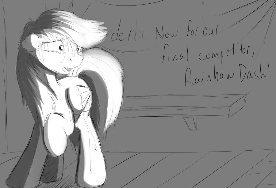 Failed Concept - Dash's Anxiety by JinYaranda