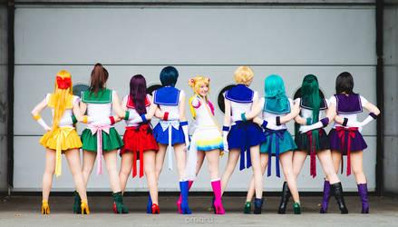 Cosplay Sailor Saturn from Sailor Moon