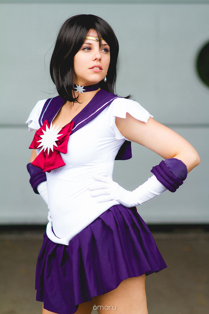 cosplay sailor saturn from sailor moon by mahocosplay on