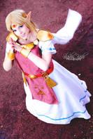Cosplay Princess Zelda from The Legend of ZeldaLBW by MahoCosplay